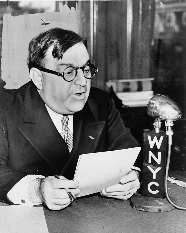 New York City mayor Fiorello LaGuardia