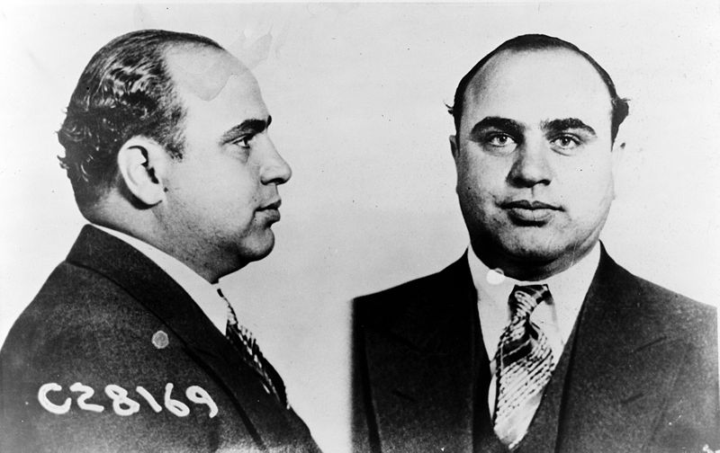 The infamous mobster Al Capone profited immensely from the black market during the alcohol prohibition in the U.S.