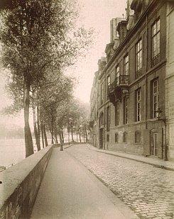 The Hotel de Lauzun in Paris, the meeting point for the Hashish Club