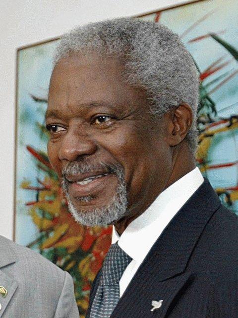 Kofi Annan, former Secretary General of the United Nations (1997-2006)