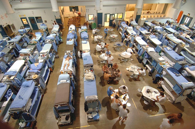 Overcrowding in California State Prison