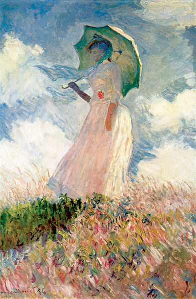 Claude Monet (1840-1926). Study of a Figure Outdoors: Woman with a Parasol 1886