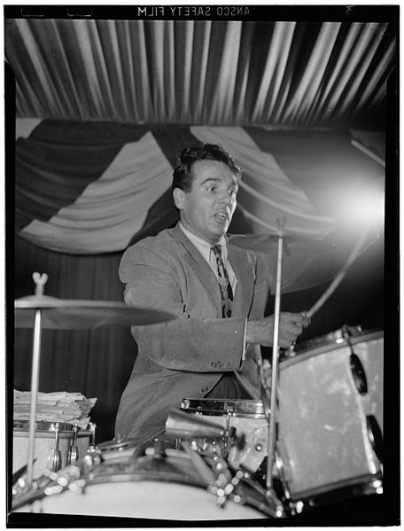 Gene Krupa, legendary jazz drummer and marijuana user