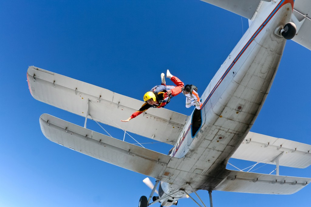 Would you jump out of a plane with a parachute? Your imagination is crucially important for decision making.