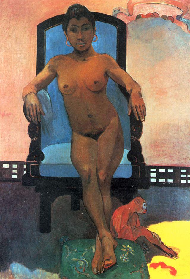 Gaugin painting