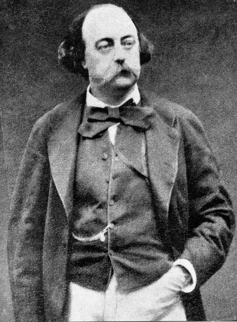 Marijuana user Gustave Flaubert (1821-1880)