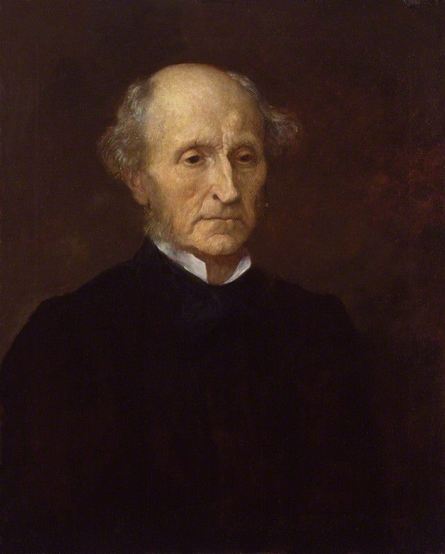 Philosopher John Stuart Mill