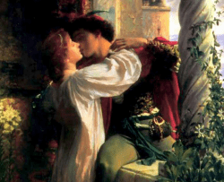 """Romeo and Juliet"", painting by Frank Dicksee"